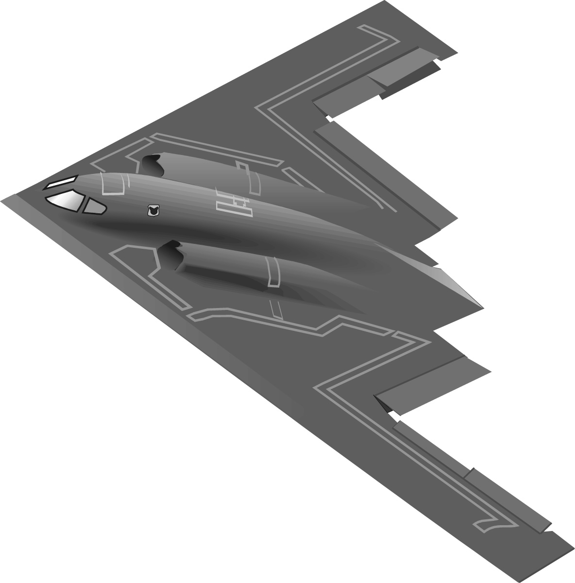 Jet Fighter clipart bomber Military Gallery Clip B2 C130