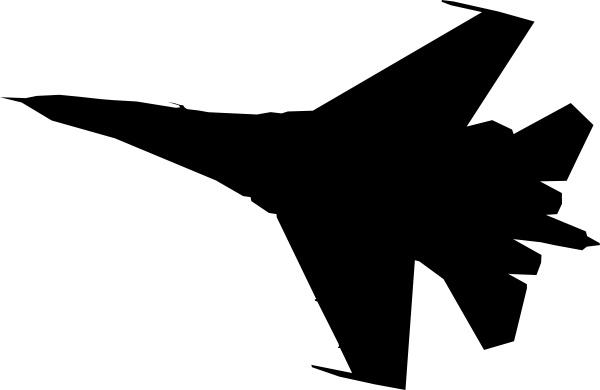 Jet clipart art Fighter Silhouette art Silhouette vector