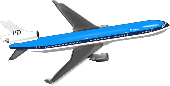 Jet clipart art Clip Art large Passenger jet