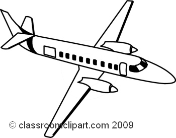 Aviation clipart black and white 91 Clipart Black Black And