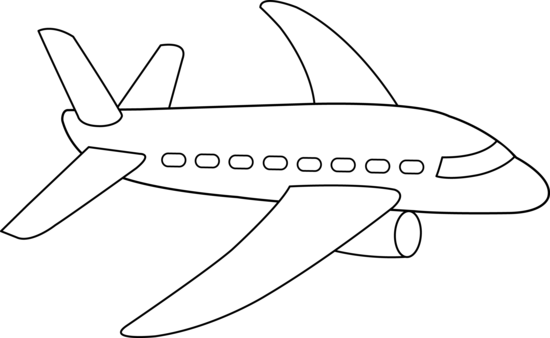 Sketch clipart areoplane Airplane clipart White collection And