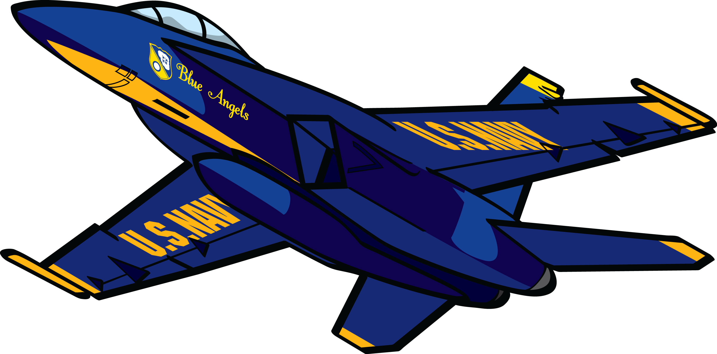 Jet clipart blue angel Cliparts Zone Clipart Cliparts Angel