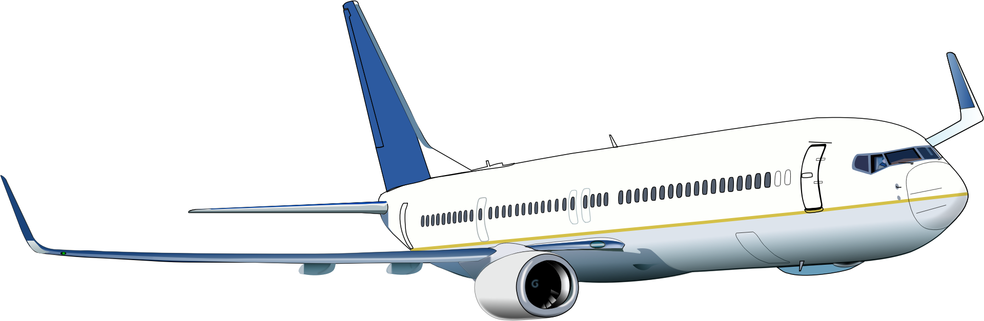 Aircraft clipart boeing 737 Boeing Boeing Clipart 737