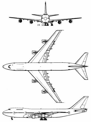 Jet clipart boeing 747 On Boeing 25+ Pinterest 747