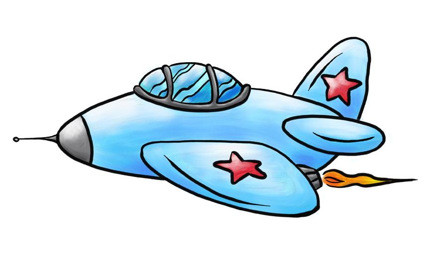 Jet Fighter clipart cartoon #5