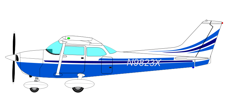 Aircraft clipart cessna airplane Use Free Domain Free Art