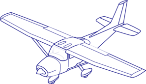 Jet Fighter clipart cessna airplane #5