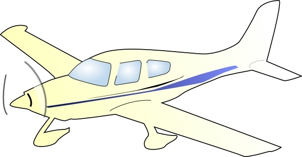Jet Fighter clipart cessna airplane #1
