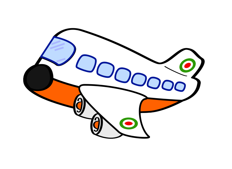 Cute clipart aeroplane Background Clipart No Free Panda