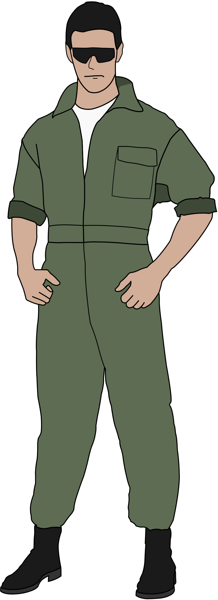 Army clipart fighter pilot #6