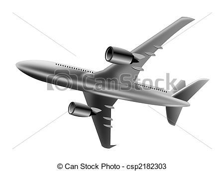 Jet clipart flight Csp2182303 in plane flight of