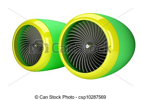 Jet clipart jet engine Isolated of Stock  engine