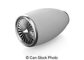 Jet clipart jet engine And white Jet 582 illustration