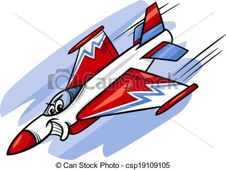 Jet Fighter clipart cartoon #2