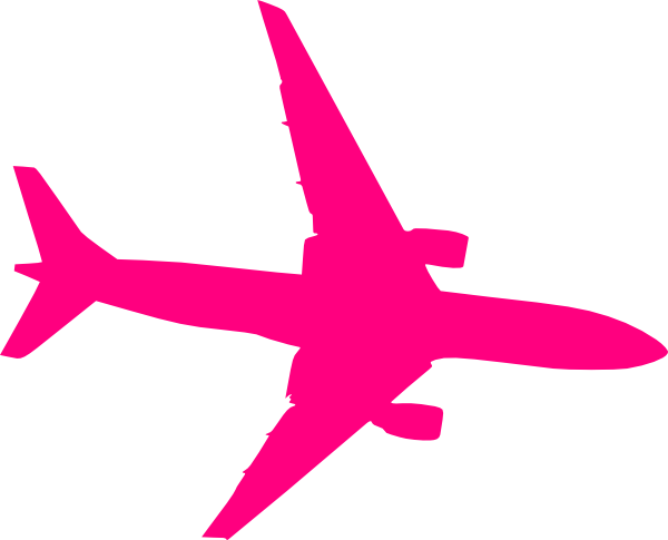 Jet clipart pink Royalty clip Clker this Plane