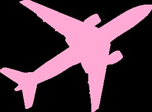 Jet clipart pink  online vector Clip Art