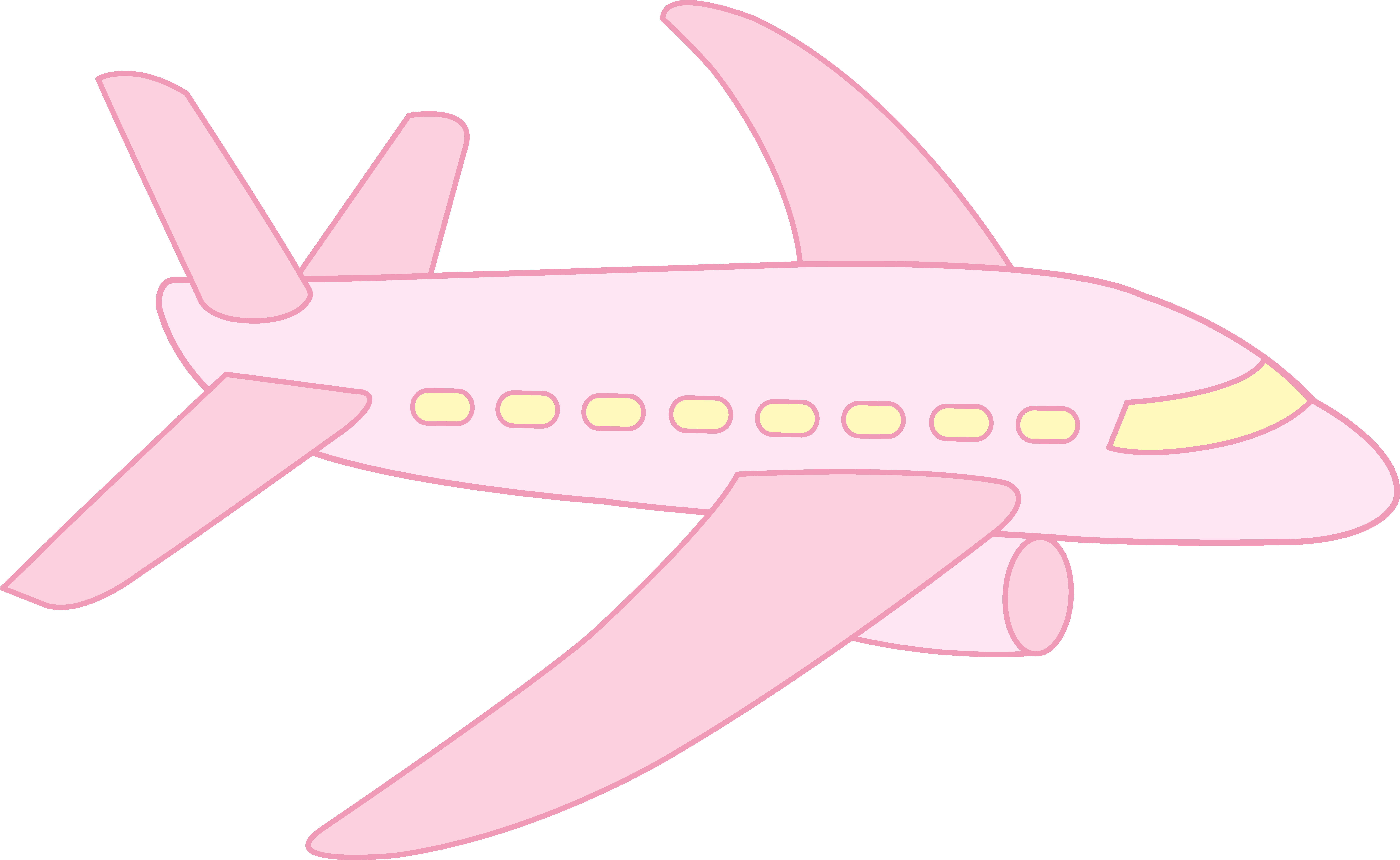 Drawn airplane animated Art Clipartwork #662 — Clipart