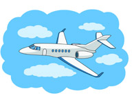 Jet clipart private Flight jet Search Size: Aircraft