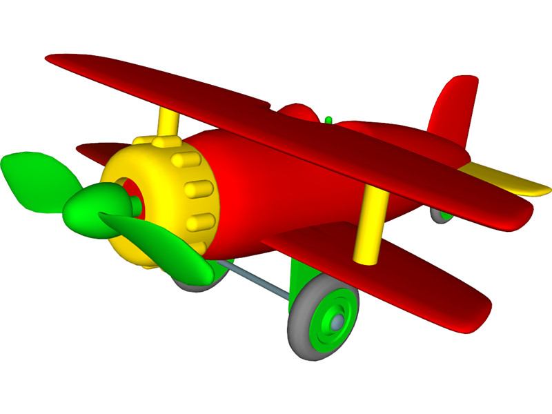 Aviation clipart toy plane 3ds 3D best Airplane Toy