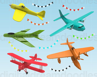 Jet clipart toy plane Clipart Airplane Colorful Planes Clipart