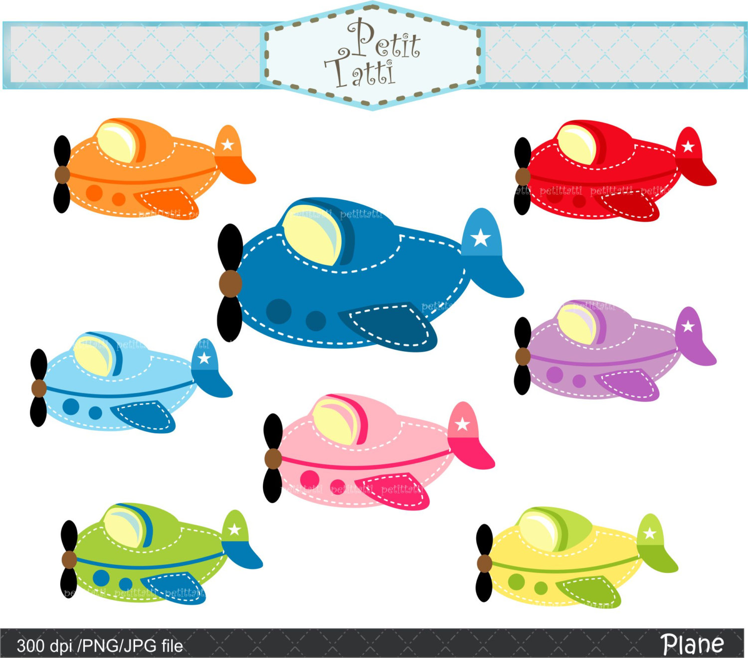 Jet clipart toy plane Plane art clip airplane ON