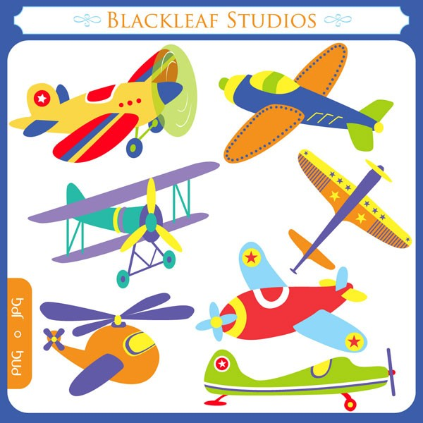 Jet clipart toy plane Etsy aircrafts airplanes toy planes