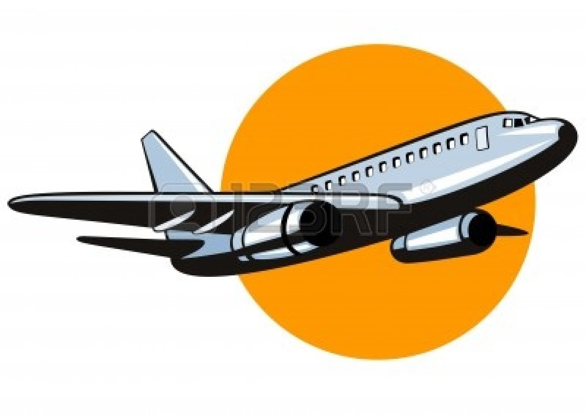Airplane clipart airplane takeoff #5