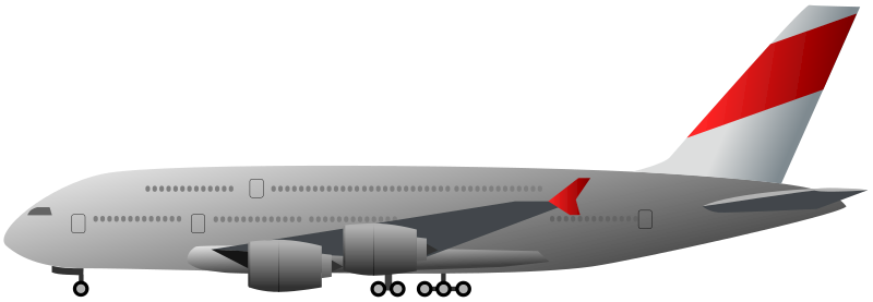 Aircraft clipart jumbo jet Clip belongs or Public Airplane