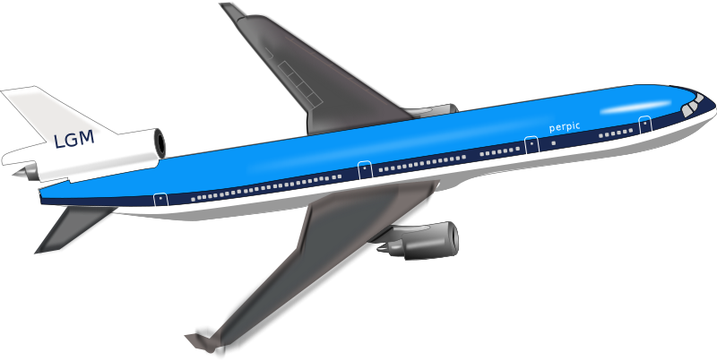 Aircraft clipart jumbo jet Art to commercial Free Use