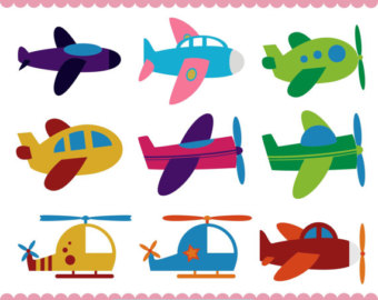 Vacation clipart flight Plane Baby Helicopter Clipart Clipart