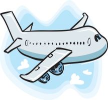 Vacation clipart flight Airplane clipartsgram Clipart com Clipart