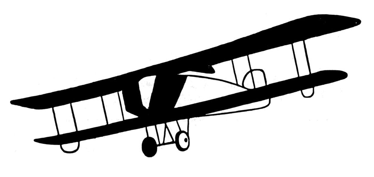 Departure clipart old airplane Collection Airplane black clipart Airplane