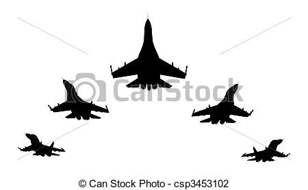 Jet Fighter clipart war weapon Jet  flyng render of