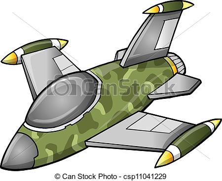 Jet Fighter clipart Jet Cute Fighter Aircraft csp11041229
