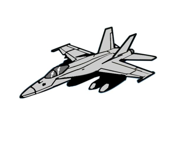 Jet Fighter clipart cartoon #6