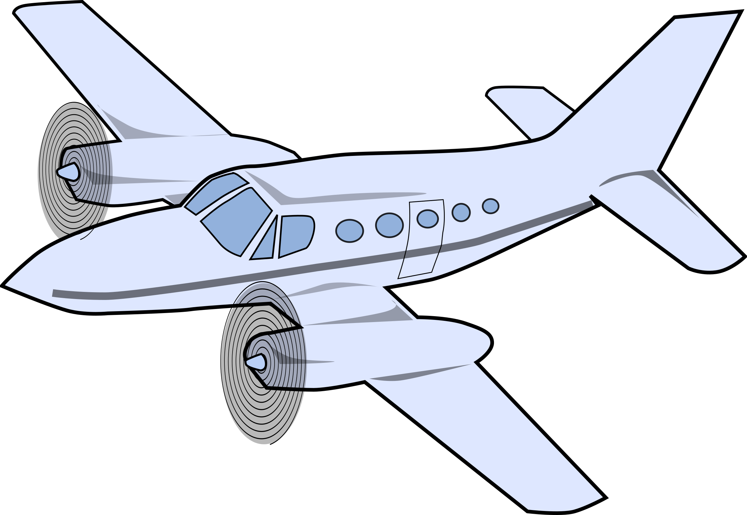 Jet Fighter clipart cessna airplane #15