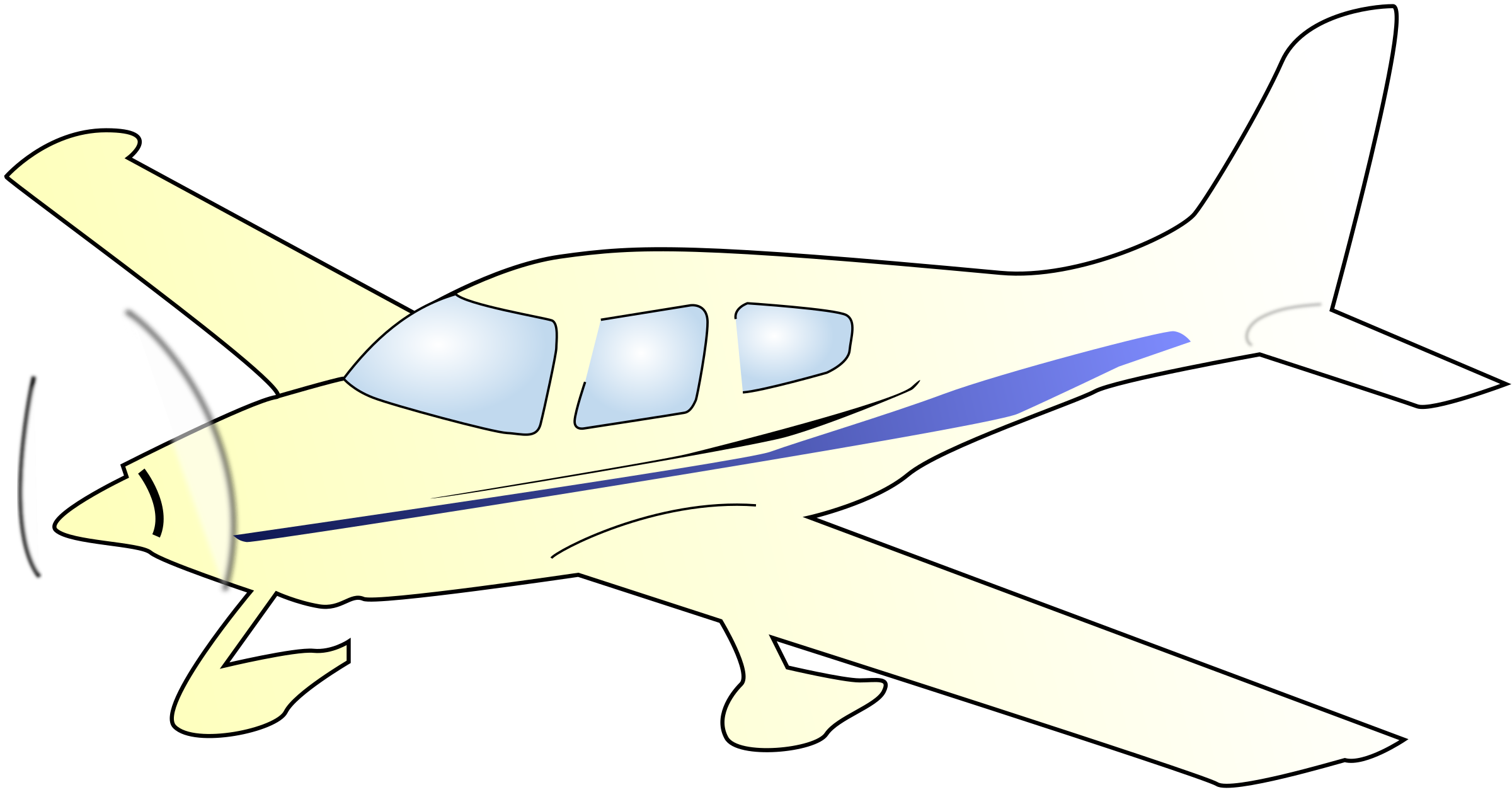 Jet Fighter clipart cessna airplane #14