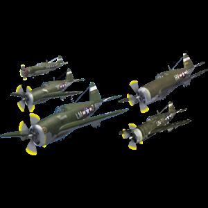 Jet Fighter clipart ww2 plane #8