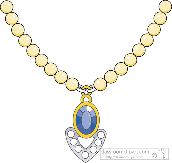 Necklace clipart #3