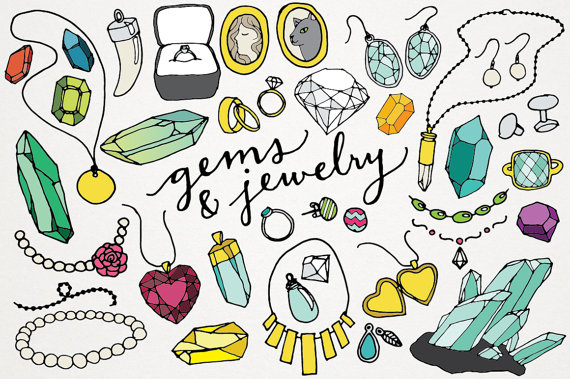 Jewelry clipart Clip clipart Pictures kid Jewelry
