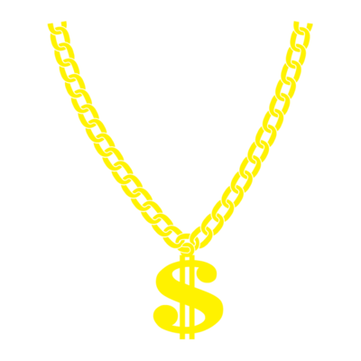 Necklace clipart thug life #6