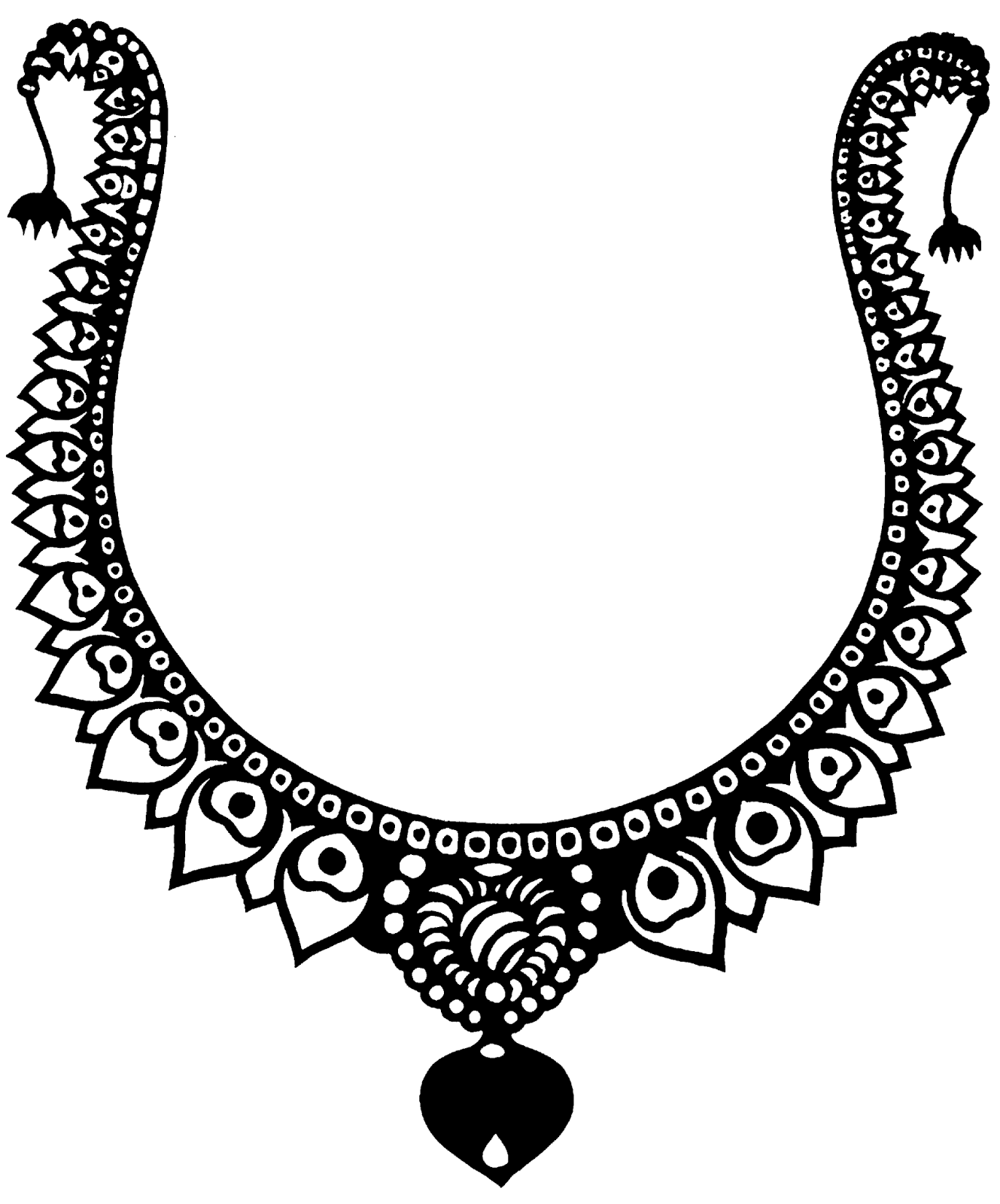 Necklace clipart jewelry #14