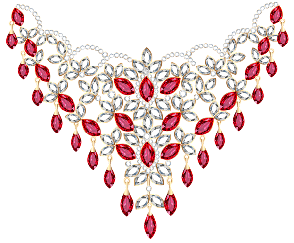 Necklace clipart transparent Easter Necklace Necklace Clipart Ruby