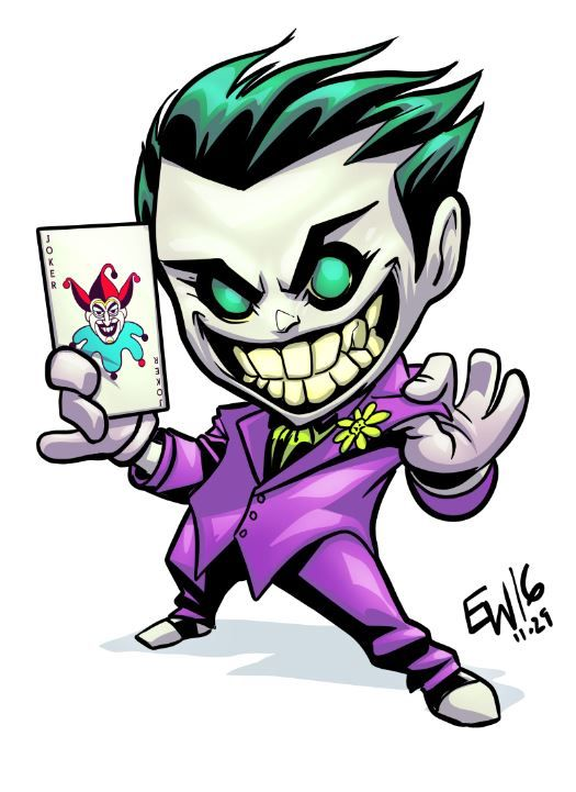 Joker clipart animated Chibi 25+ on Best Joker