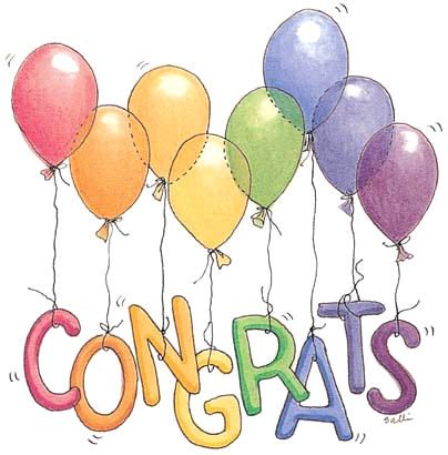 Right clipart congratulation On Balloons to Art Clip