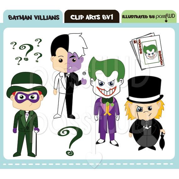 Joker clipart batman Face Batman Clipart  Joker