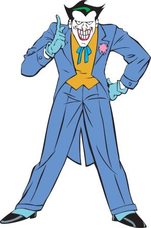 Joker clipart batman #7