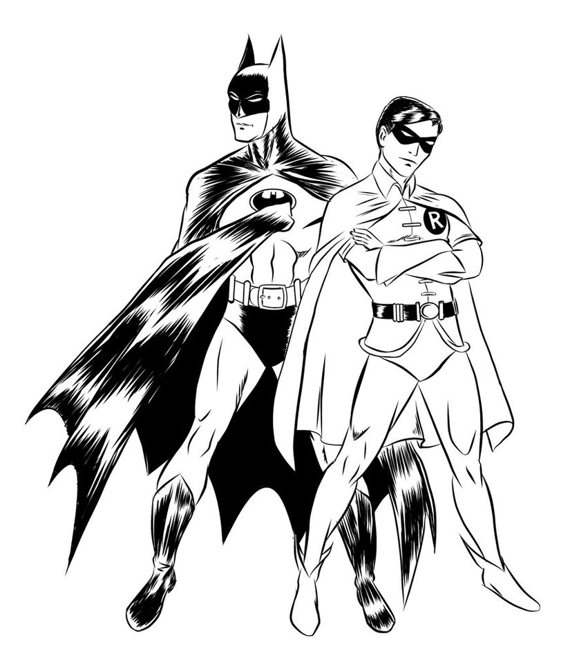 Joker clipart batman and robin And Batman Batman  Coloring
