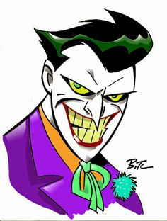 Joker clipart batman animated series #5