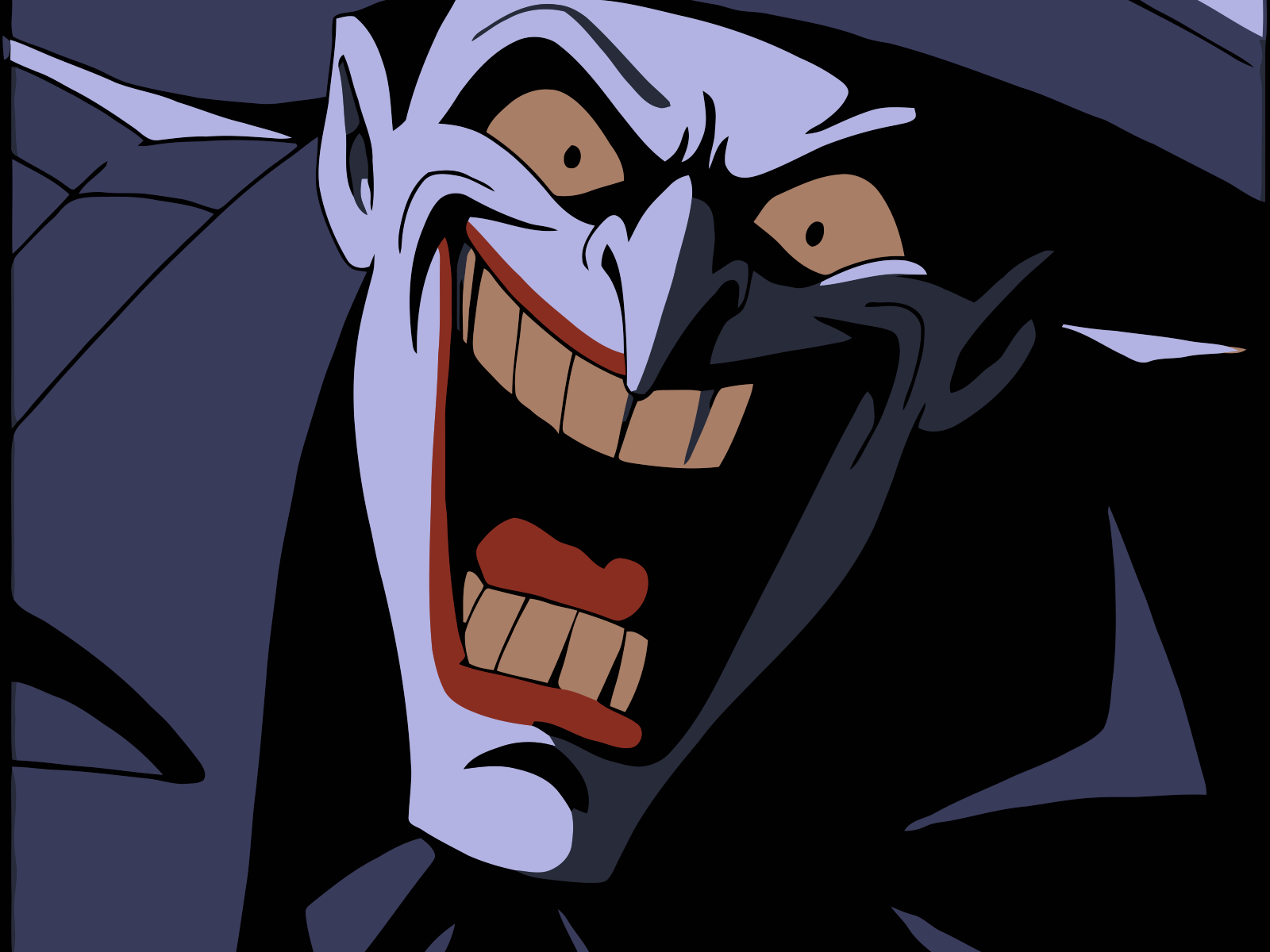 Joker clipart batman animated series #1
